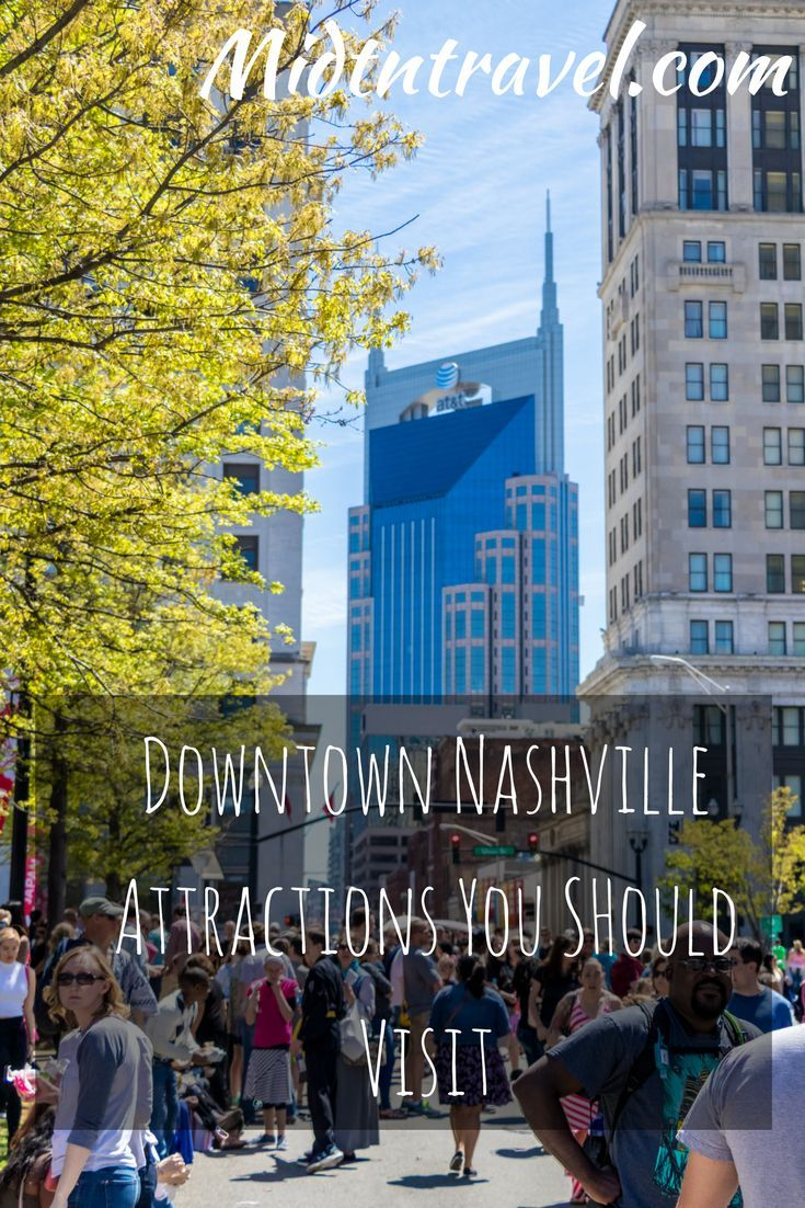 Awesome things to do in Downtown Nashville, Tennessee.  There is something for everyone: museums, parks, concert venues, and incredible food!