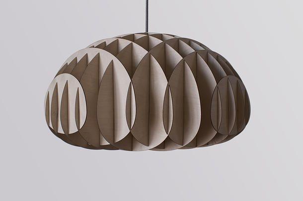 Gejst - Biota Lampe i birk - Tinga Tango Designbutik