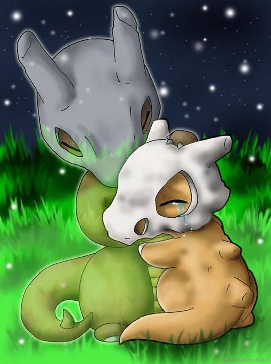 Poor Cubone. I'm crying now