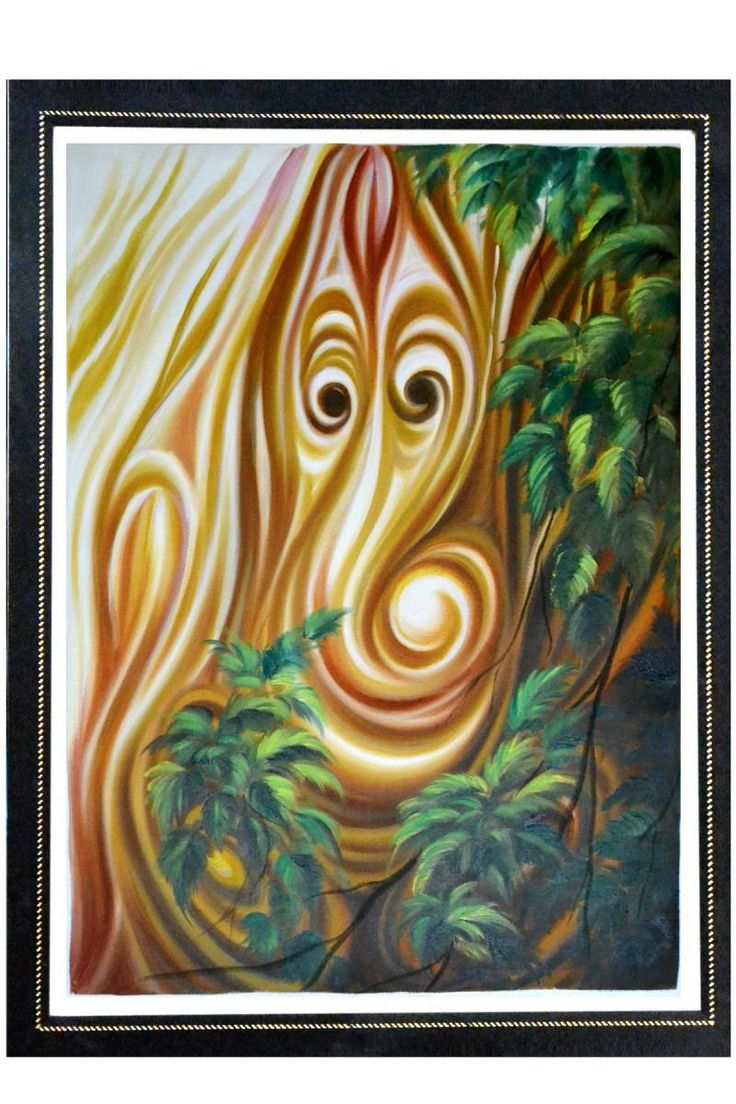 Buy online sunita khedekar paintings - Shri Ganesh Oil On Canvas Painting By Himmat Singh In Himmat At Touchtalent 17771
