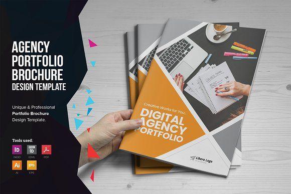 Digital Agency Portfolio Brochure V1 Brochure Design Portfolio Web Design Portfolio Brochures