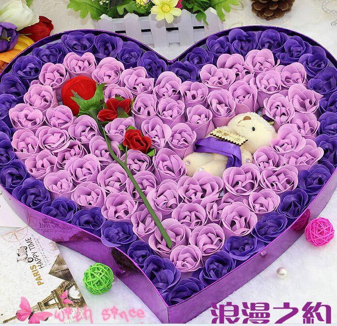 Купить товар40 см валентина подарок на день рождения подарок рождественский подарок в форме сердца розовый цветок мыла для романтического ванной моющее средство крем для лица стиральная в категории Декоративные цветы и венкина AliExpress.     40 см подарок на день рождения святого Валентина подарок Рождественский подарок в форме сердца розовое мыло цветок д