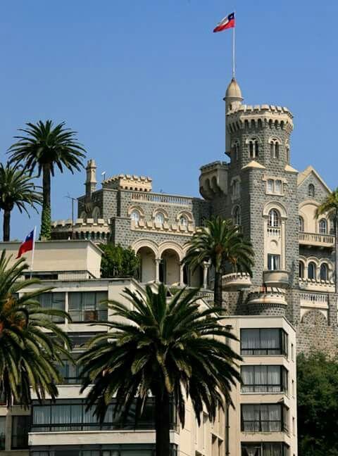palacio brunet. viña del mar