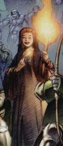 "Natasha (The MOST DANGEROUS WOMAN in all of EUROPE)   ""Natalia ROMANOVA"" (BLACK WIDOW)   Earth 311   Marvel 1602#2 (2003)   One DAY One HERO"