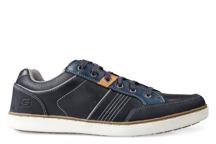 Shoe Connection - Skechers - Lanson - Rometo casual lace-up shoe. $159.99 https://www.shoeconnection.co.nz/mens/shoes/casual-shoes/skechers-lanson-rometo-casual-shoe?c=Navy