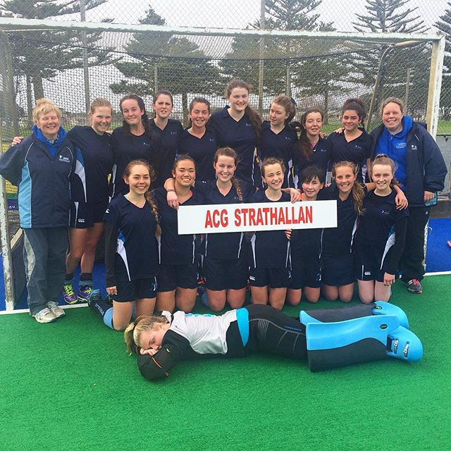 Hockey 1st XI girls are playing off for 5th. Well done girls, you can do it!!