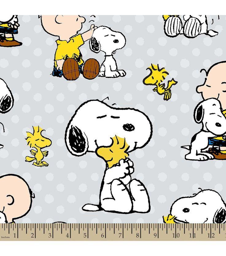 Mejores 90 imágenes de snoopy/peanuts fabric en Pinterest   Noche ...