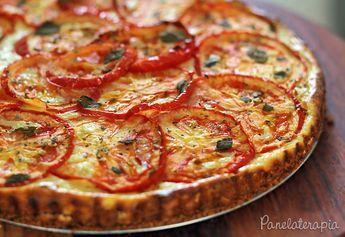 Cheesecake Salgado ~ PANELATERAPIA - Blog de Culinária, Gastronomia e Receitas