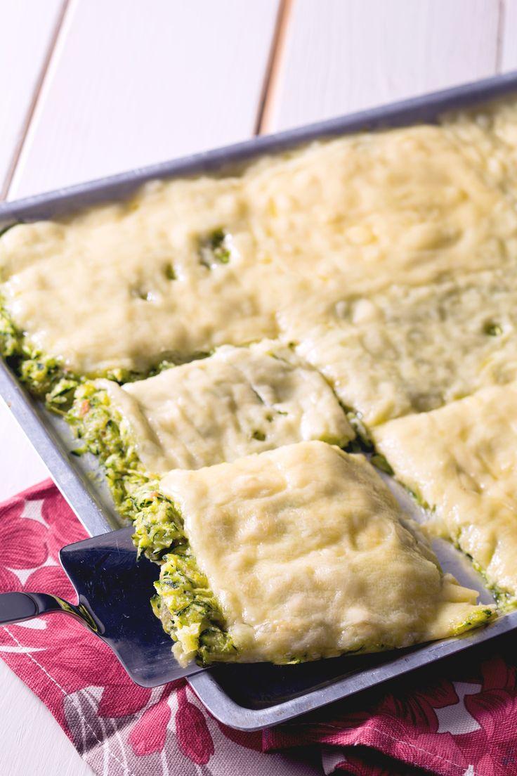 Schiacciata di zucchine: gustosissima e pronta in pochissimo!  [Easy zucchine quiche]