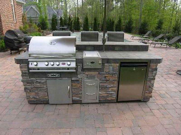 25 best Outdoor Kitchen Ideas images on Pinterest | Modular outdoor ...