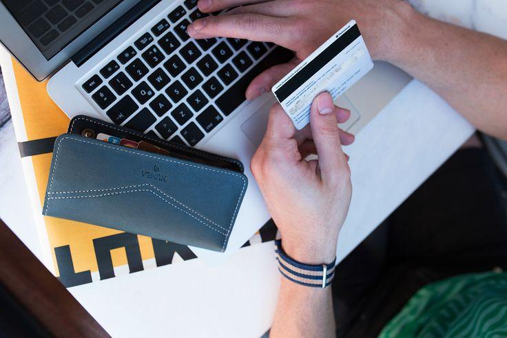 Turkuaz Telefon Kılıfı Cüzdan / Turquoise Phone Case Wallet