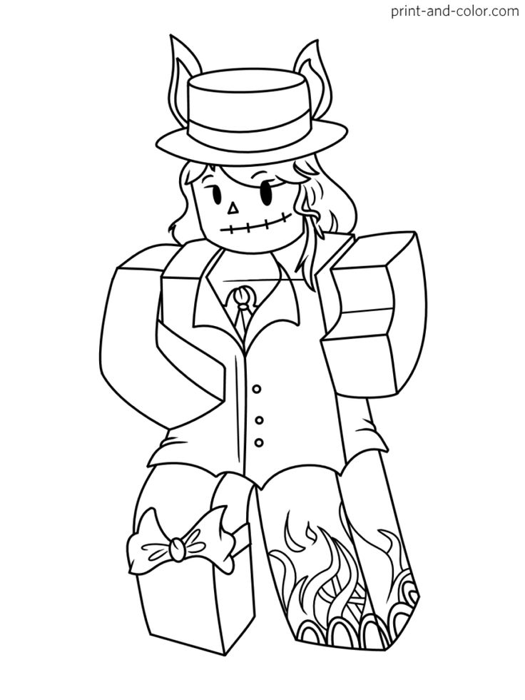 Roblox coloring pages in 2020 | Coloring pages, Coloring ...