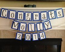 Congrats - Three Row 2016 Graduation Banner