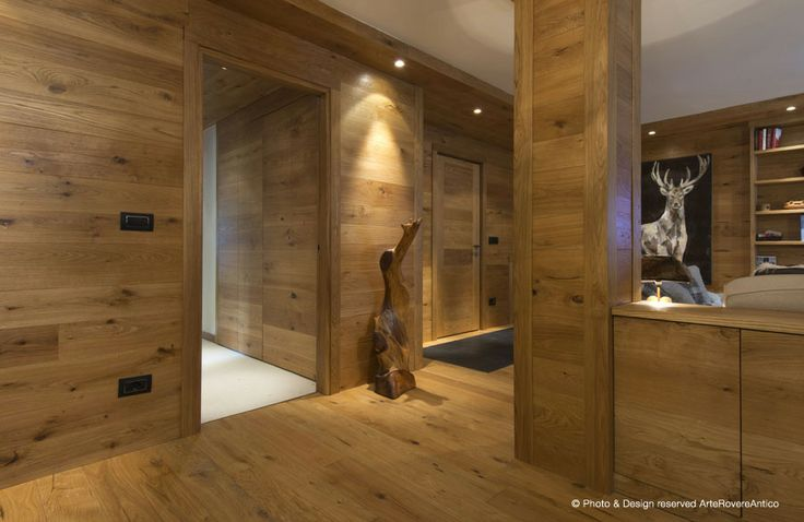 Mountain Architecture by Arte Rovere Antico || Photo by Duilio Beltramone for Sgsm.it ||