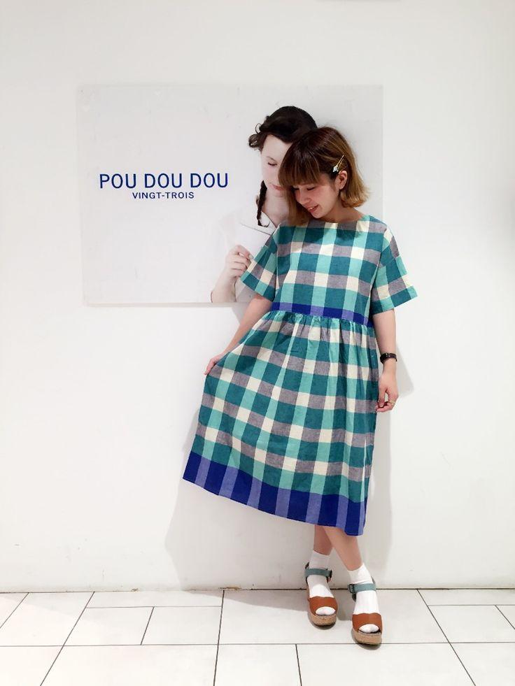 夏仕様になって帰ってきました!チェックが可愛いワンピース*   池袋P'パルコ店   POU DOU DOU ショップブログ