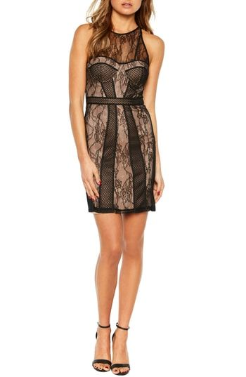 15d04d41a26 Bardot Jenny Splice Sheath Dress