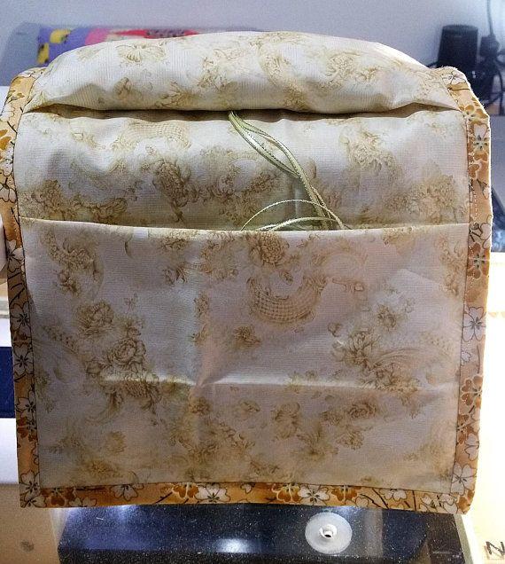 Sewing Caddie  Toil print Sewing Caddie  Embroidery Sewing