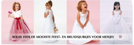 Feestjurken meisjes bruiloft