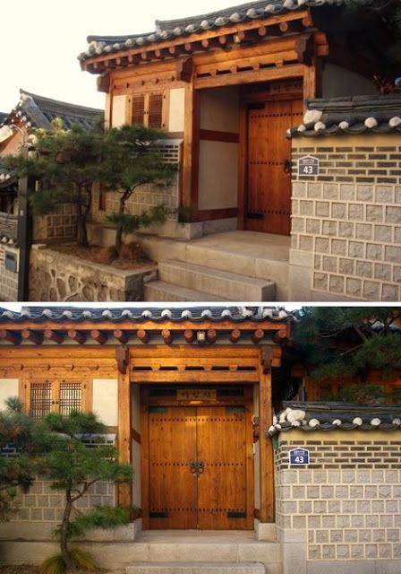 "Located in 31 Beon-ji (Gahoe-dong, Bukchon), Sanggojae is a ""Fusion Hanok,"" a traditional Korean house with modern touches. Built by Park ..."
