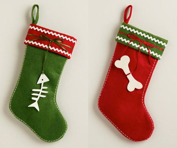 holiday stockings for cats and dogs