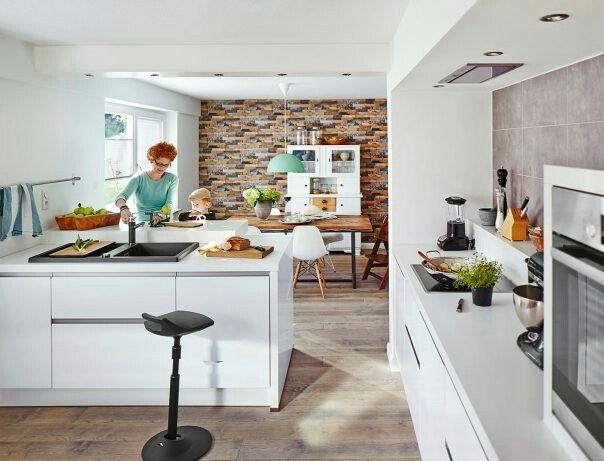 17 best keuken inspiratie images on pinterest grijs keukens huis idee n en keuken klein. Black Bedroom Furniture Sets. Home Design Ideas