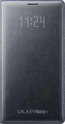 Samsung Flip Case LED Leather Black (N910F Galaxy Note 4)