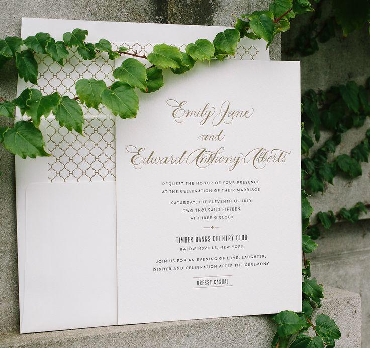 free wedding borders for invitations%0A Letterpress and foil calligraphy wedding invitations  Bella Figura