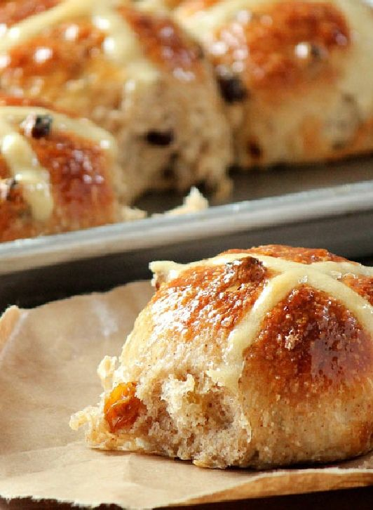 Low FODMAP and Gluten Free Recipe - Gluten-free hot cross buns -  http://www.ibssano.com/low_fodmap_recipes_gluten_free_hot_cross_buns.html