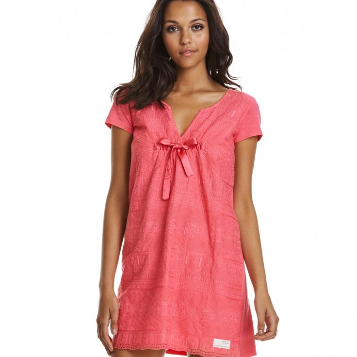 over the top dress SORBET PINK