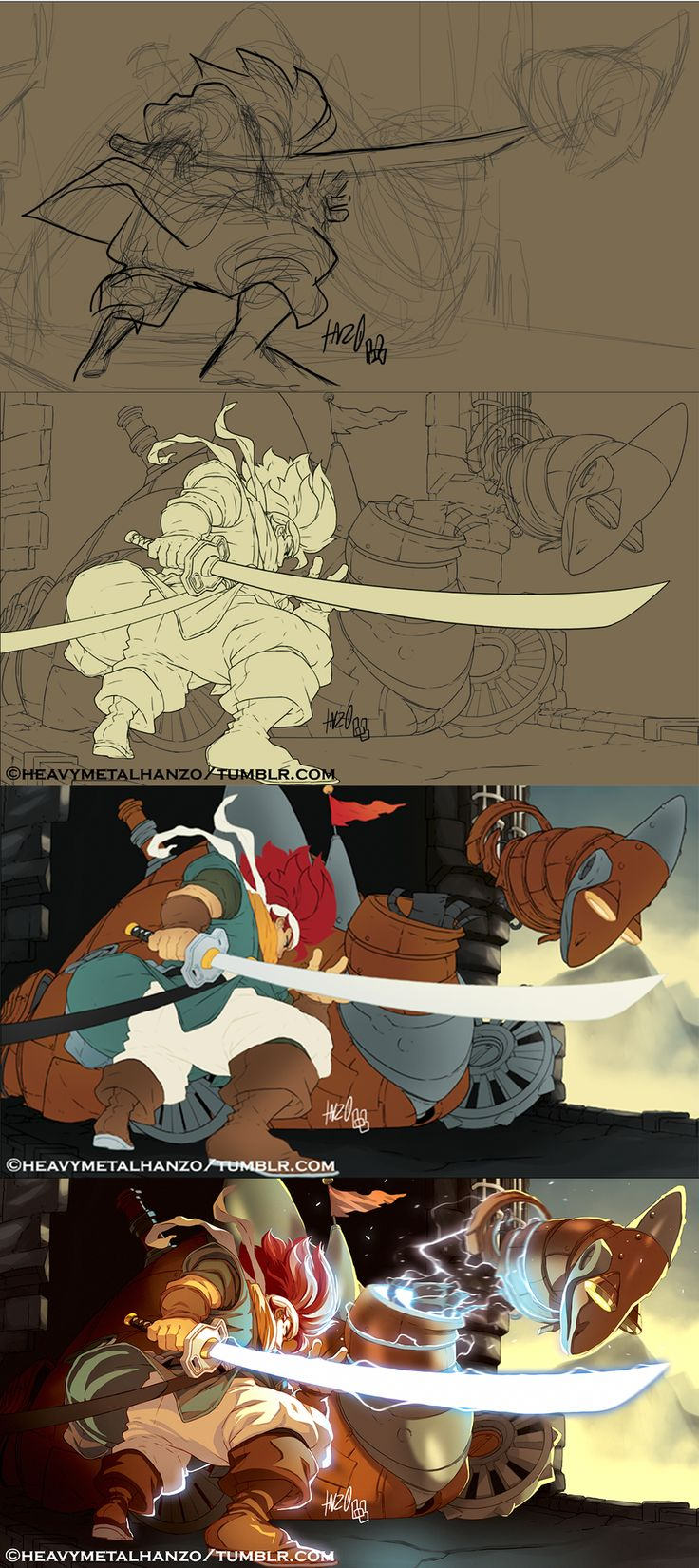 http://www.deviantart.com/art/Chrono-Trigger-Crono-Versus-the-Dragon-tutorial-563142607