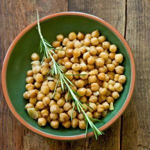 Garbanzo Beans with Rosemary and Garlic | Yum! | Pinterest