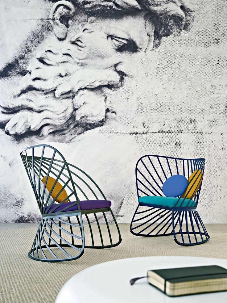 Rocking aluminium low lounge #chair SOL by MOLTENI & C. | #design Constance Guisset #interiors @Molteni Arredamenti Arredamenti Arredamenti Dada
