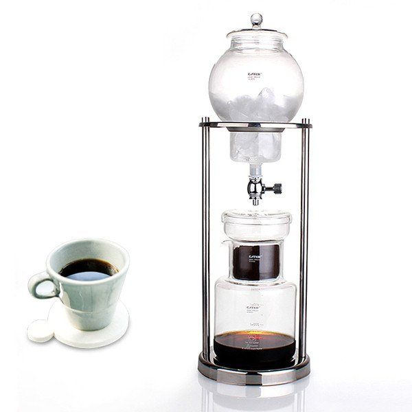 1Pc Dutch Coffee Cold Drip Water Drip Coffee Maker Serve For 8cups Japanese style ice drip coffee maker