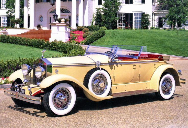 1930 Rolls-Royce Phantom I Ascot Dual-Cowl Phaeton by Brewster of New York Light Yellow fvl.jpg (1280×878)