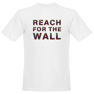 Reach for the wall - this is something only swimmers really understand, right? GET TO THE WALL! #swimming #tshirt