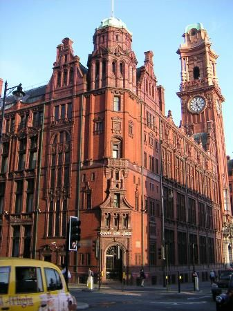 England, UK: Palace Hotel, Manchester (UK) Used to be the Refuge Assurance building many moons ago. My first job on leaving school was here!