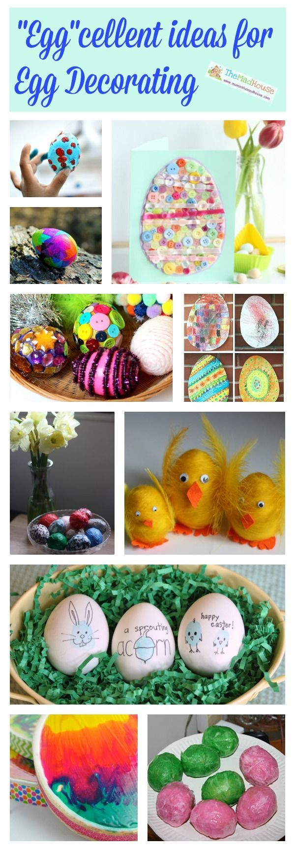 eggcellent ideas for egg decorating this easter