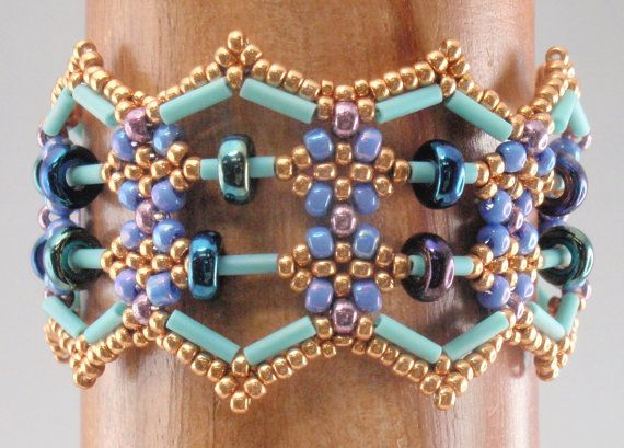 Instructions for Abacus Bracelet   Beading Tutorial