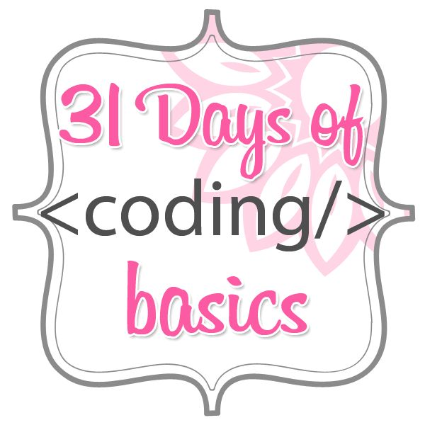 31-days-of-coding-basics