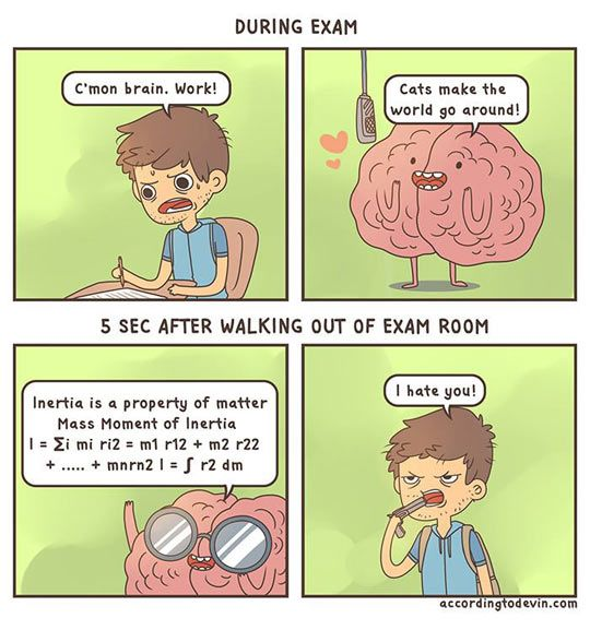 Unhelpful brain...