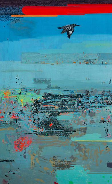Clive van den Berg, A Kingfisher Passes (2013)