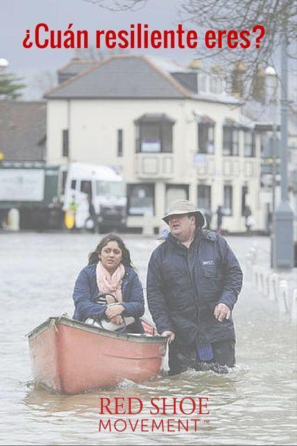 Para saber qué es la resiliencia sólo basta observar a las personas que se sobreponen a los peores desastres naturales