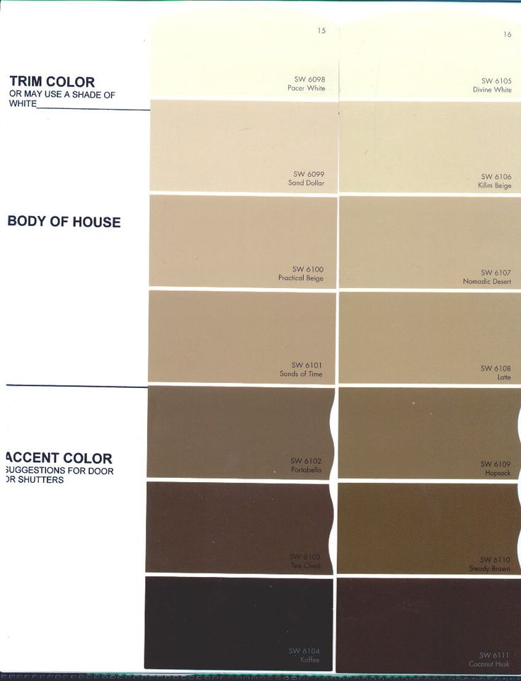beige color chart the preserve architectural review. Black Bedroom Furniture Sets. Home Design Ideas