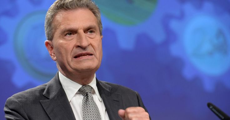 Oettinger wants to scrap all rebates in post-Brexit EU budget
