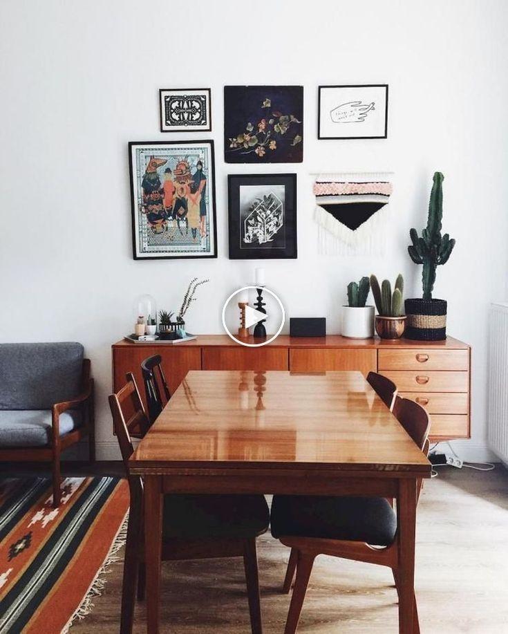 ❗ 42 schöne böhmische Esszimmer-Dekor-Ideen für jedes mögliches Hauptdesig…