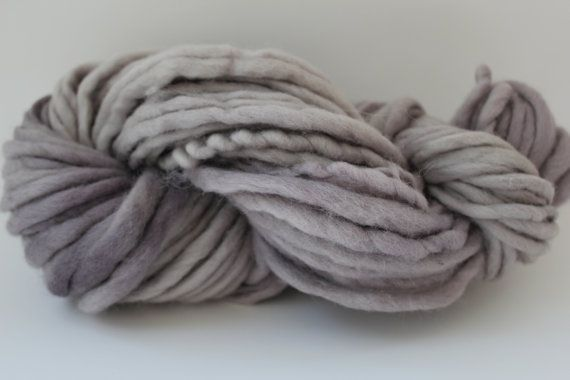Sandstone Color Chunky Hand  Spun Hand Dyed  Roving Wool Hand Knitting Yarn. $14.00, via Etsy.