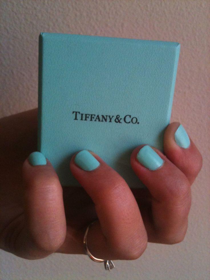 Tiffany Blue nailsNails Inspiration, Makeup Nails, Nails Design, Pretty Nails, Hair Nails Makeup, Nails Ideas, Nails Polish, Nails Laquer, Blue Nails