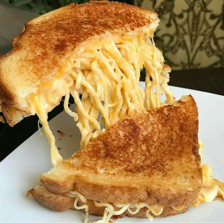 Cheese ramen grilled cheese