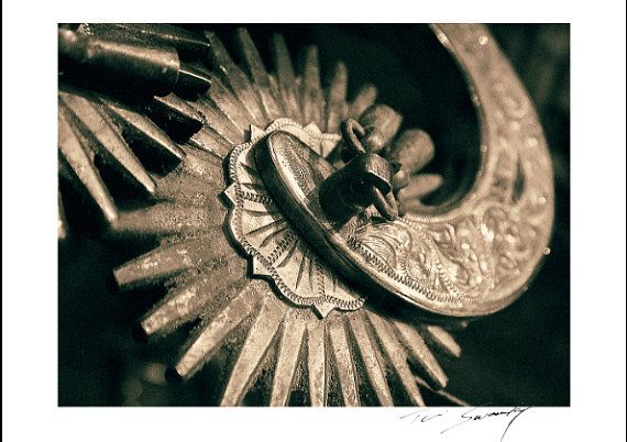 SILVER SPUR© spanish working spur Wall Art by SwankyPhotographic