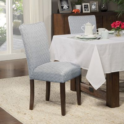 found it at wayfair traditional parsons chair - Wayfair Dining Chairs